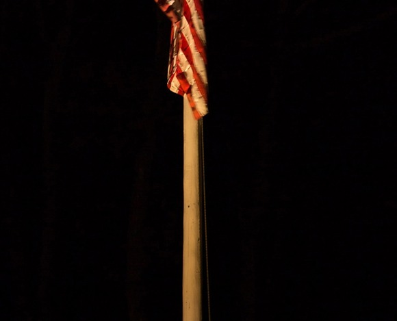 Flag Pole Lighting